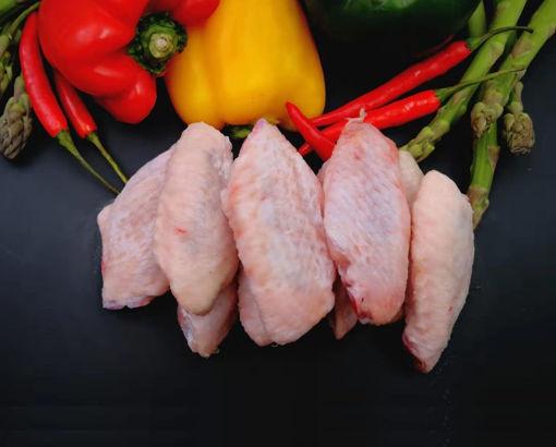圖片 澳洲優質無激素雞中翼 400g